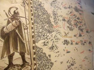 """Equinya Weltkarte"" Detail"