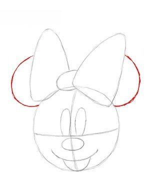 minnie mouse zeichnen # 9