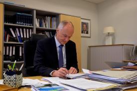 Deutscher Botschafter Island