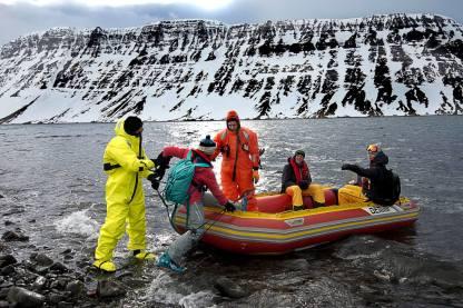 Sail Ski Schlauchboot