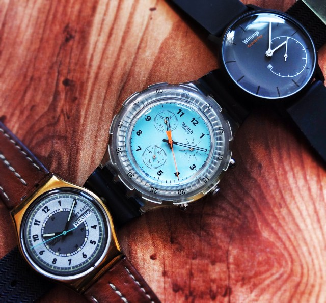 Swatch, Swatch Chrono & Withings