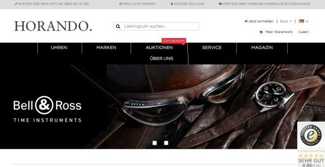 Horando Luxusuhren online kaufen