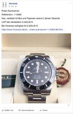 Horando Rolex Submariner
