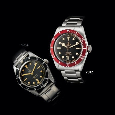 Tudor BLACK BAY 1954-2012