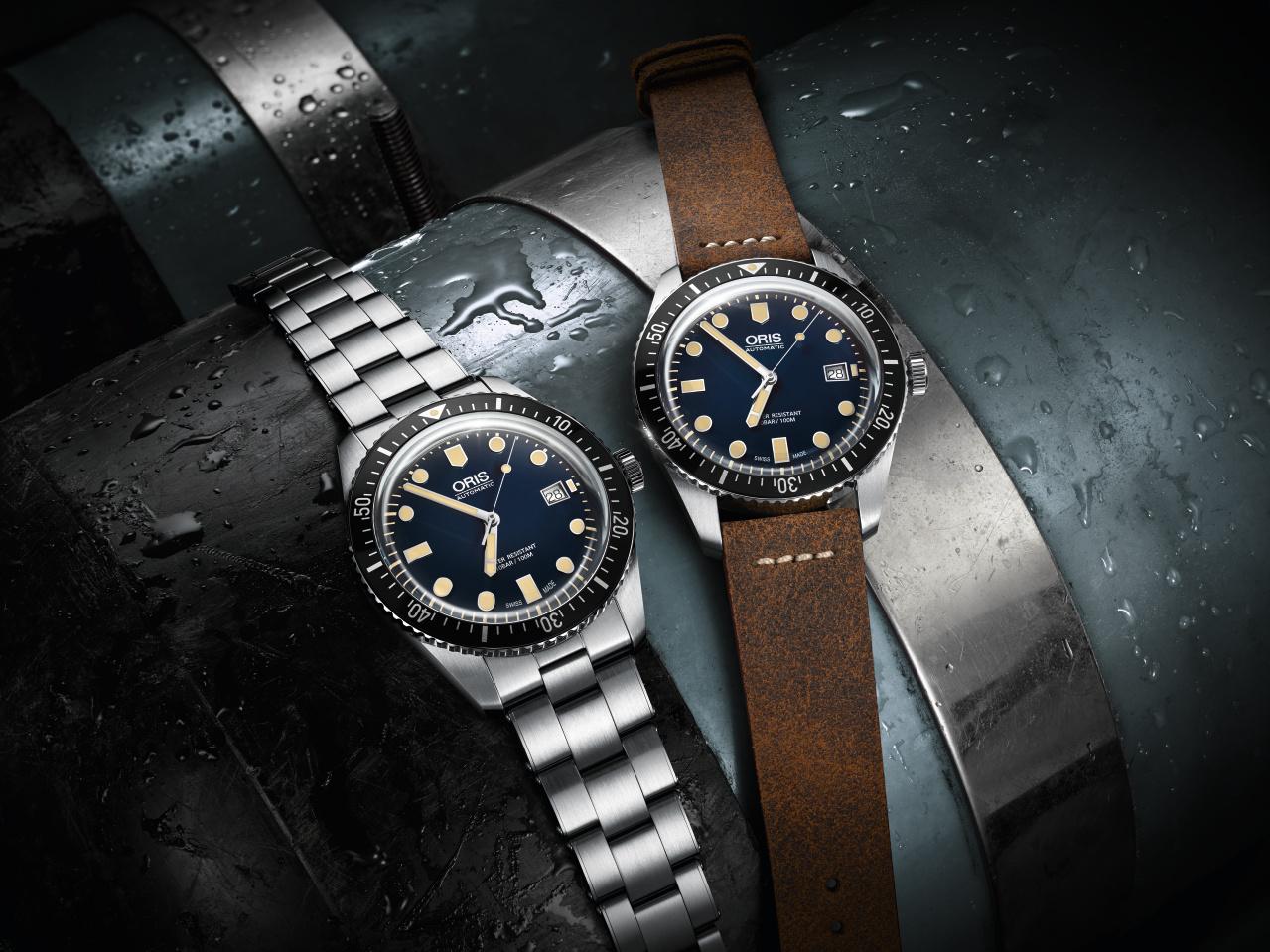01 733 7720 4055-07 5 21 02 - Oris Divers Sixty-Five