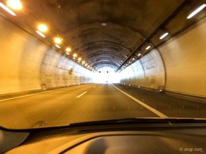 Kein Roadtrip in der Schweiz ohne Tunnel