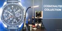 Fortis Cosmonauts - im Vordergrund zu sehen: Ein verschraubbarer Druckzylinder zum Testen.