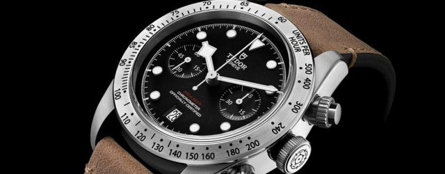 Tudor Black Bay Chrono 79350 Baselworld 2017
