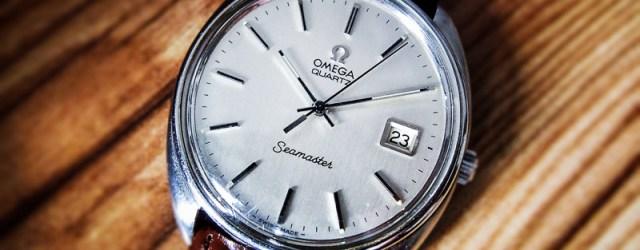 Omega Seamaster Quartz Vintage