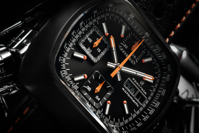 Retro-Chronograph: Straton Speciale mit TV-Dial (inkl. Video)