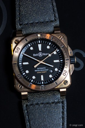 Bell & Ross 2018 - Diver Bronze (Limited Edition 999 Stück, Preis 3.800 Euro)