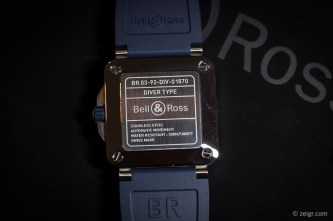 Bell & Ross 2018 - Diver Blue