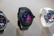 Bubble 47mm - Pop de la Nuez Edelstahl PVD Schwarz, Automatik Kautschukband Limitiert 5.300 €