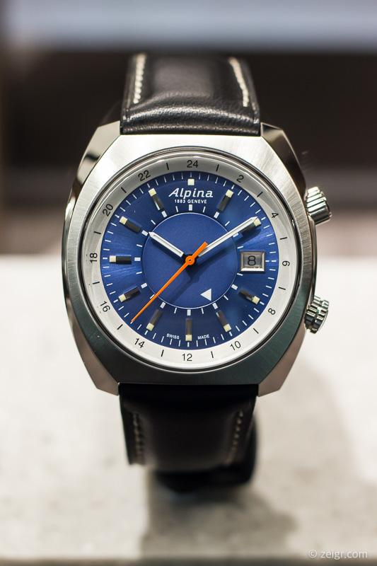 Uhren-Trends 2018 - Alpina Startimer Pilot Heritage Automatic GMT