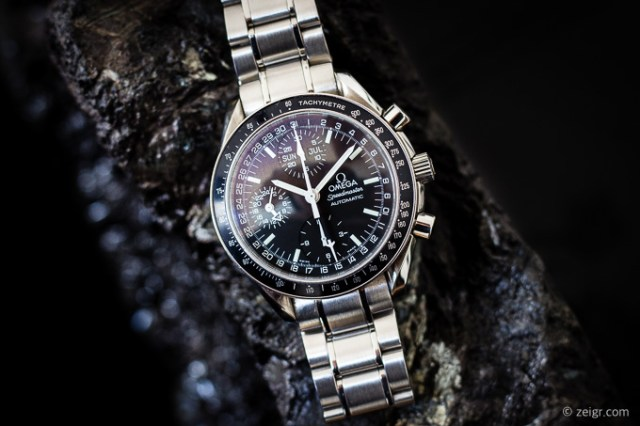 Omega Speedmaster Automatic Triple Date (MK40) & Moonwatch