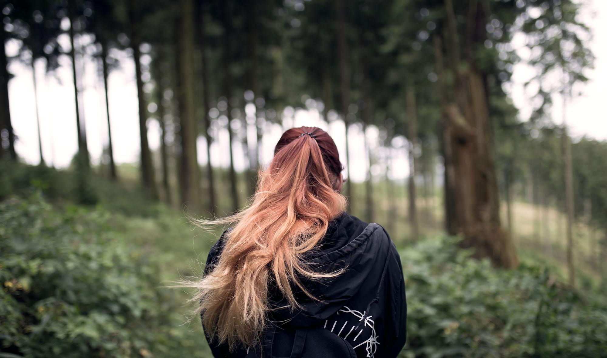 Ich steh' im Wald