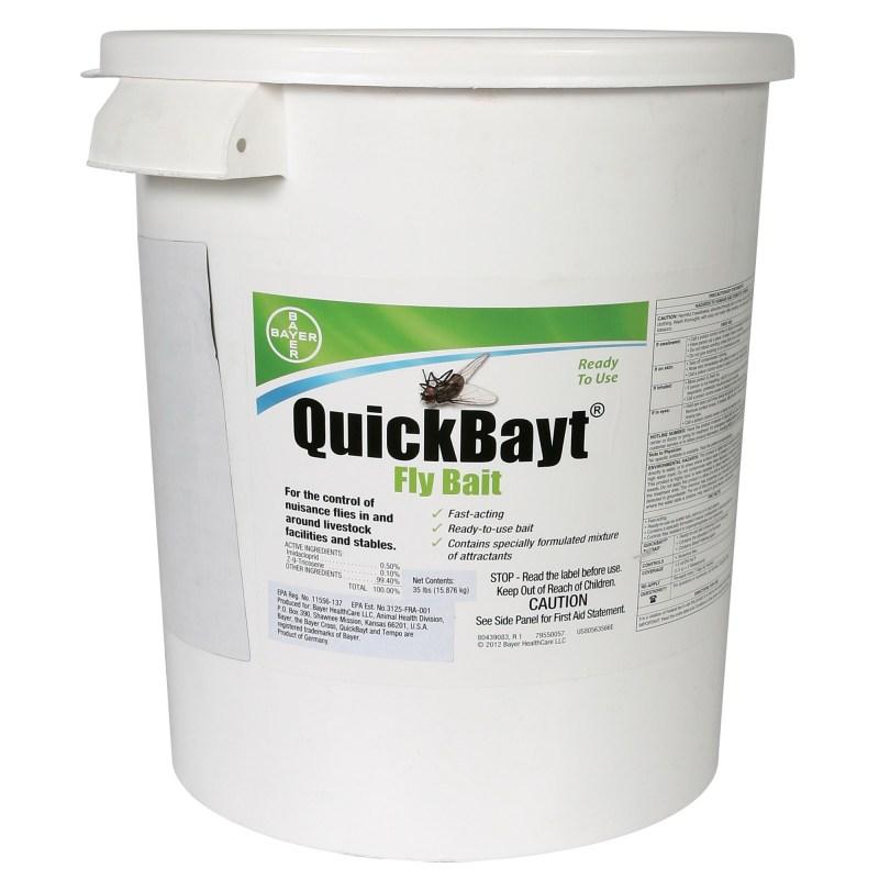 Fly Bait Quick Bayt 35 lb. Pail