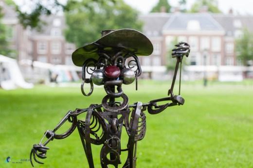 Iron Sculpture van Gideon Kalkman