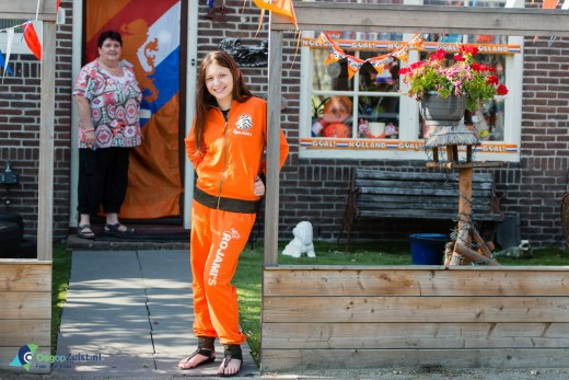 Het oranje gevoel van Esmee uit den Dolder