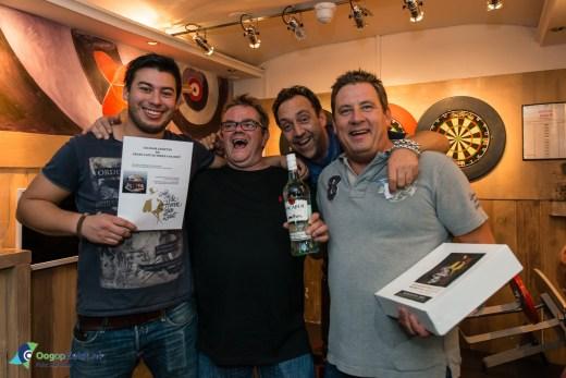 Jan Willem winnaar sjoelbak competitie