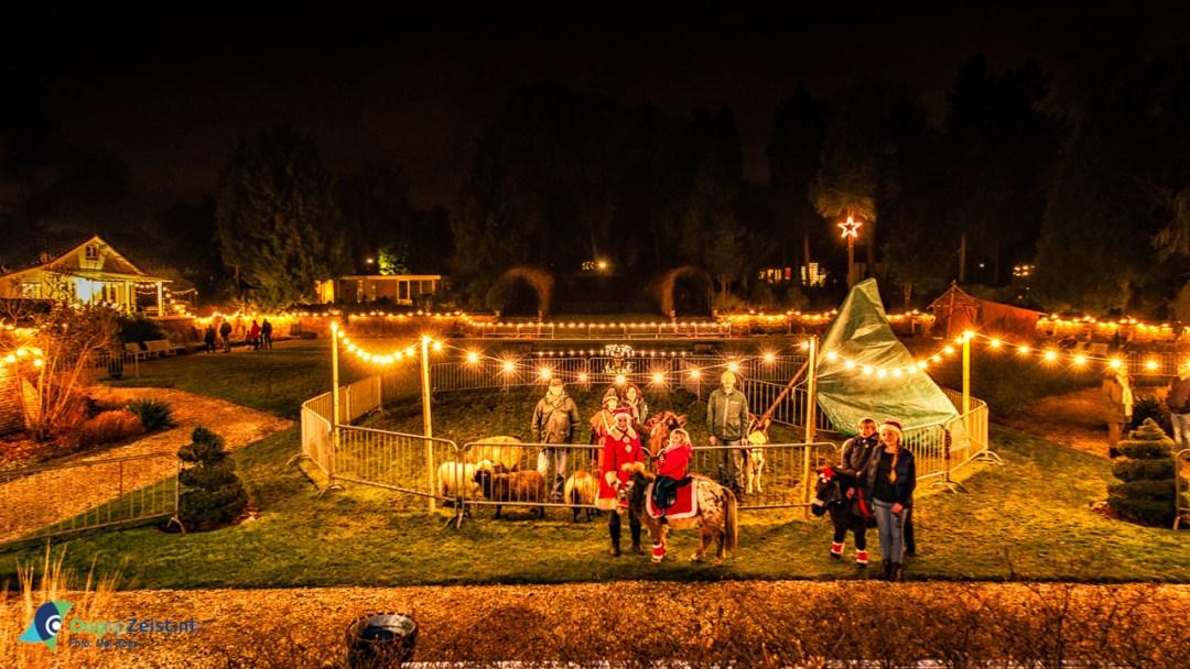 Levende Kerststal in de Dieptetuin