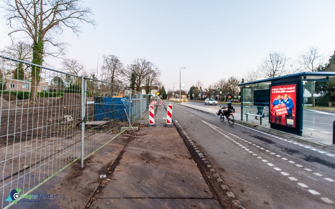 Start bouw fiestenstallling Jordanlaan/Kroostweg aan de utrechteweg