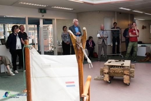Wethouder Varkenvisser opent de expositie