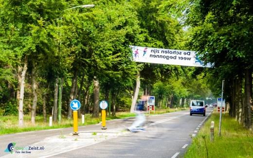 De scholen zijn weer begonnen. Veilig Verkeer Nederland heeft weer zijn jaarlijkse banner campagne overal in Nederland