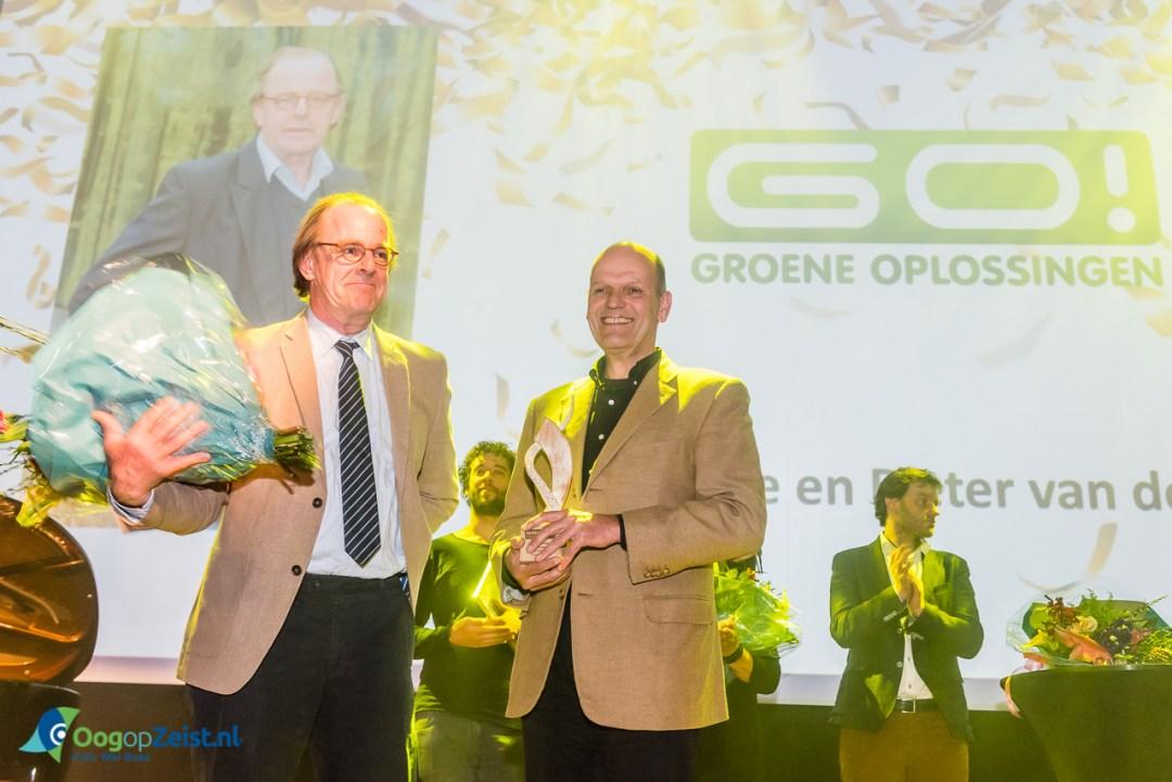GO! Groene Oplossingen wint Jonge Ondernemers Award. Verkiezing Ondernemer van het Jaar 2016.