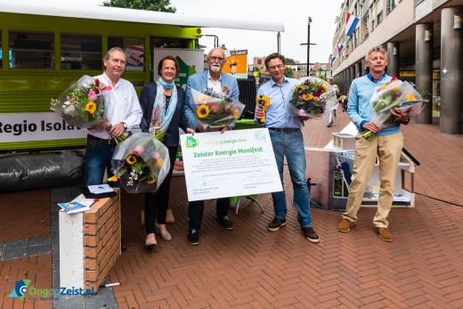 Zeister Energie Manifest ondertekent tijdens Duurzame Markt