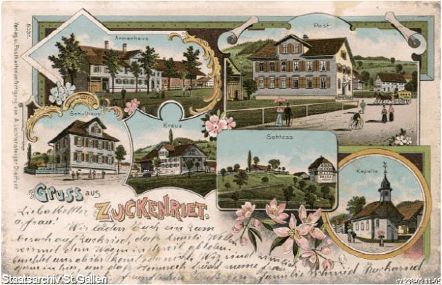 Zuckenriet, 1905