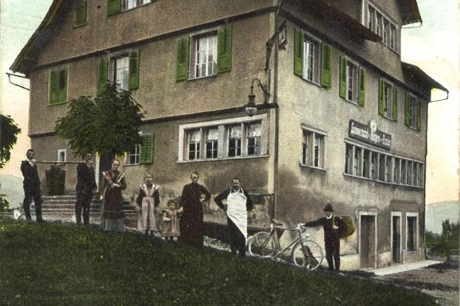 Mitarbeitende der Metzgerei Hirschen in Wittenbach
