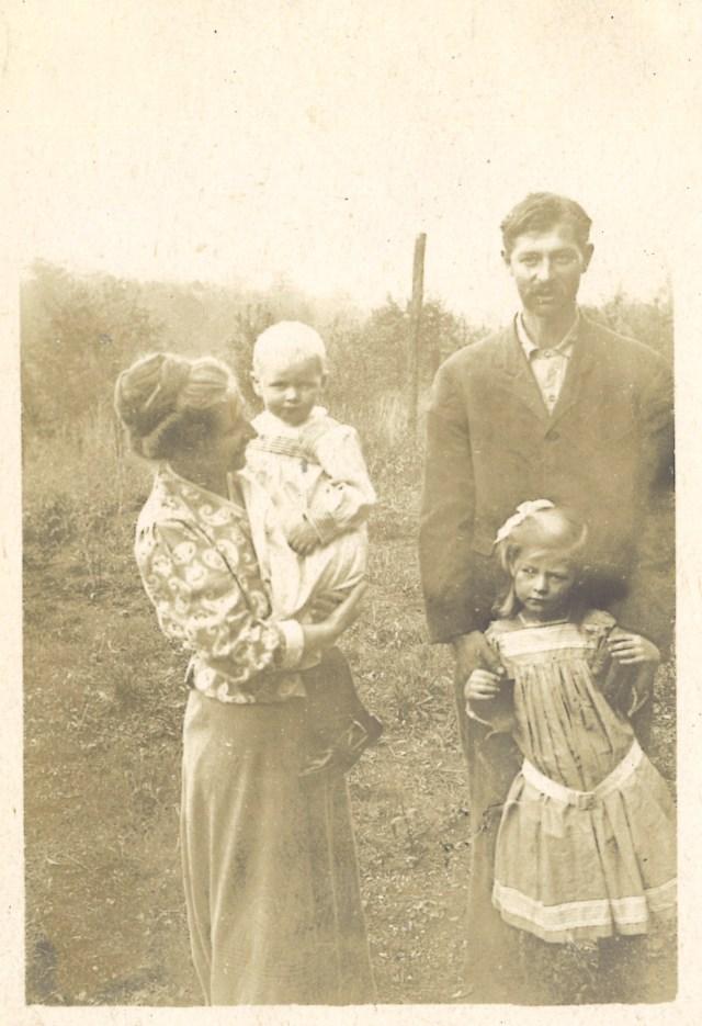 August Andreae-Korff mit Familie in Atlanta