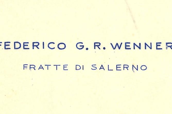 Briefkopf Wenner
