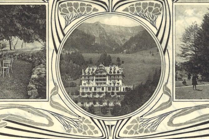 Grand Hotel Briefkopf, Auszug
