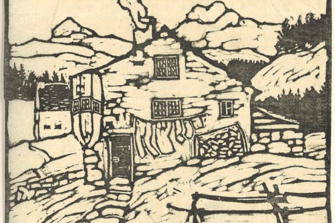 Linolschnitt Oberkirch