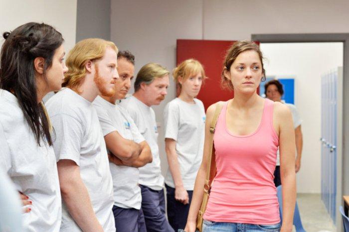 Sandra (Marion Cotillard) und ihre Kolleginnen. (Bild: zVg)