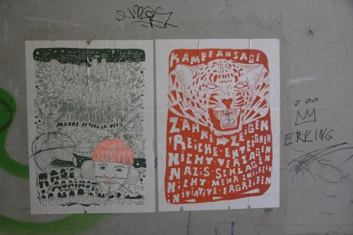 Baerwarts Gässli Plakate