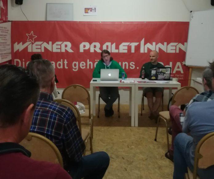 PdA strebt Kandidatur in Wienan