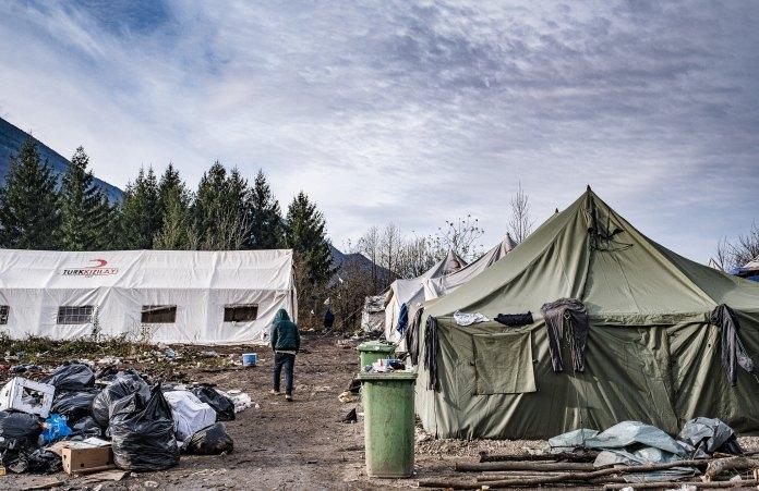 Griechenland: Brand in Flüchtlingslager