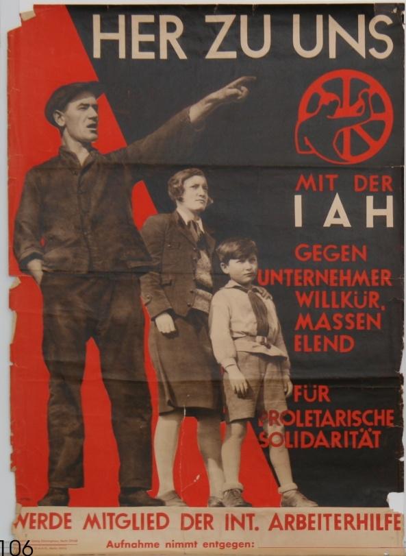 Vor 100 Jahren: Gründung der Internationalen Arbeiterhilfe