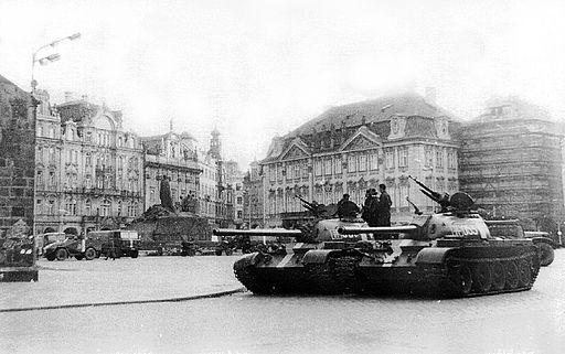 Die versuchte Konterrevolution in der Tschechoslowakischen Sozialistischen Republik