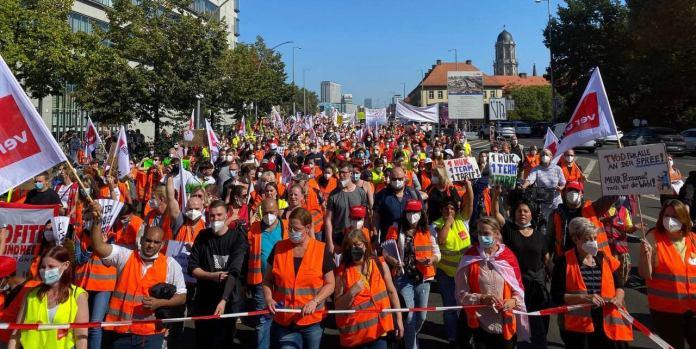 Pflegestreik in Berlin geht weiter