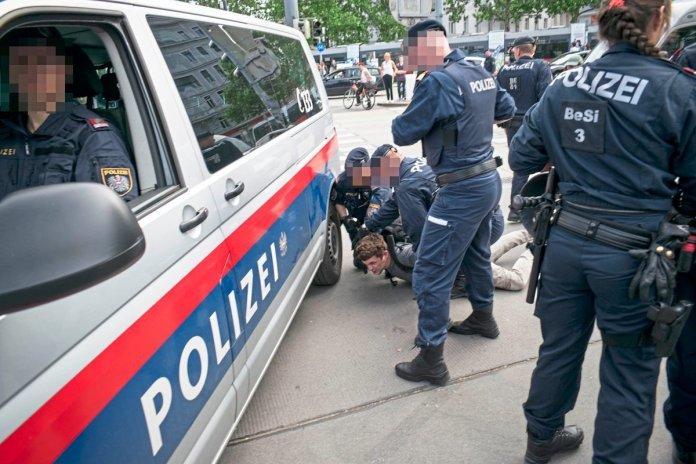 Milde Urteile nach Polizeigewalt bei Klimademo