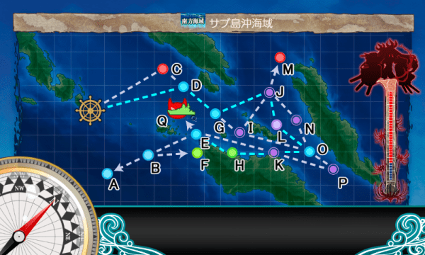 5-3のマップとルート