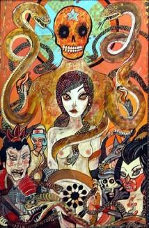 Jon Todd, Burn the Witch, Courtesy Yves Laroche