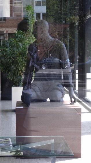 Bronze no. 91 by Hanneke Beaumont in the lobby of Westmount Square
