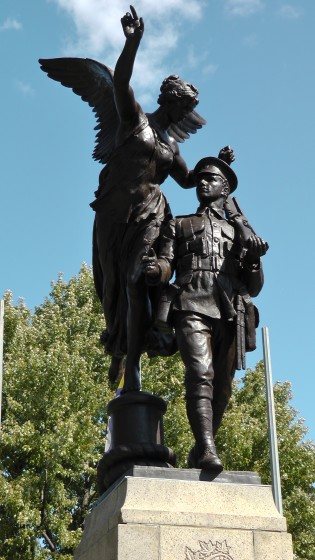 The Westmount Cenotaph by George Hill