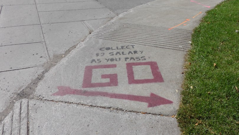 Street Art in Westmount