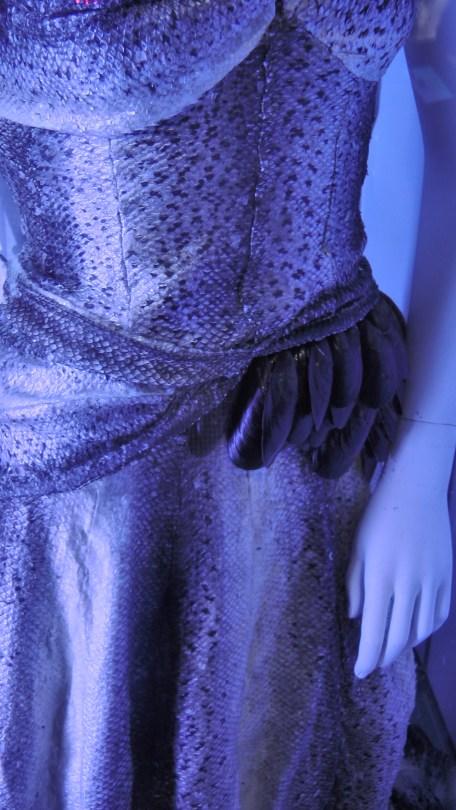Detail of Mermaid Skin By Geneviève Bouchard